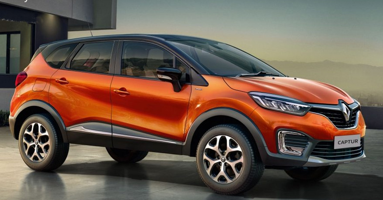 10 renault captur launched in india. Black Bedroom Furniture Sets. Home Design Ideas