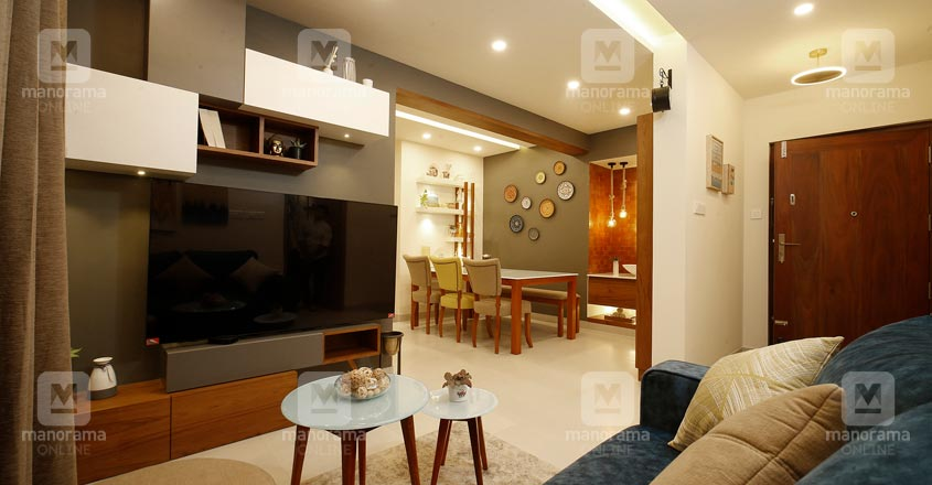 new-flat-calicut-living