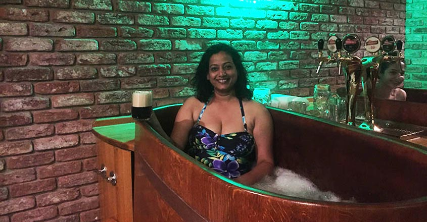 Beer Spa In Prague Solotraveller Anjaly Thomas